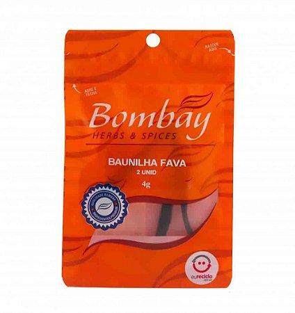 Fava de Baunilha com 2 Favas Bombay 4g