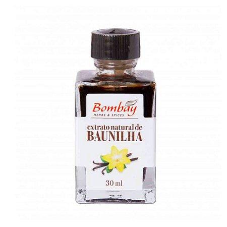 Extrato Natural de Baunilha Bombay 30 ml