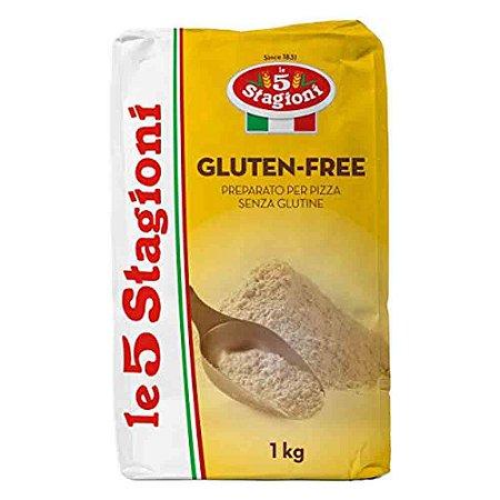 Farinha Italiana Le 5 Stagioni Sem Gluten Gluten Free 1 Kg