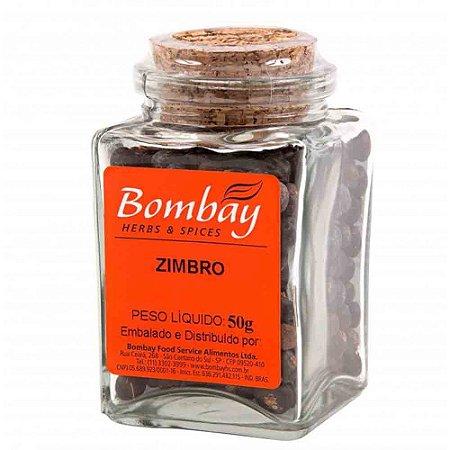 Tempero Zimbro Bombay Vidro 50 gr