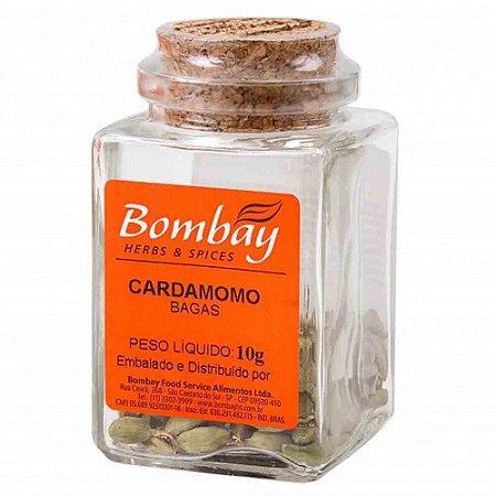Tempero Cardamomo Baga Bombay Vidro 10G