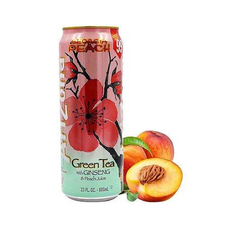 Chá Verde Ginseng e Suco Pessego Arizona Importado USA 680ml