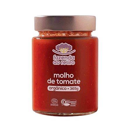 Molho de Tomate San Marzano Organico Fazenda Retiro 365gr