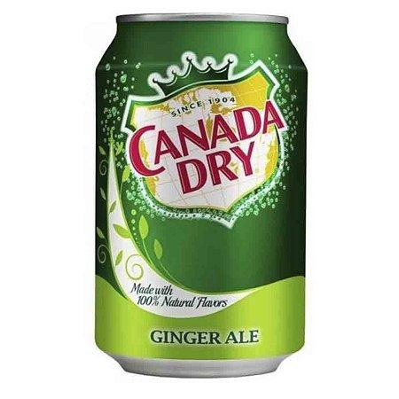 Refrigerante Canada Dry Ginger Ale Original Importado 330 ml