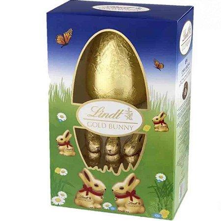 Chocolate Lindt Coelho e Ovo Pascoa Gold Bunny Egg 125g
