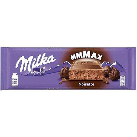 Chocolate Milka Noisette  Creme de Avelãs 270G  Importado