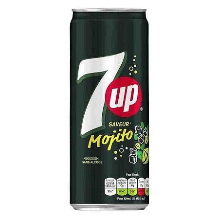 Refrigerante Mojito 7UP Limao com Hortelã Seven Up 330 ml