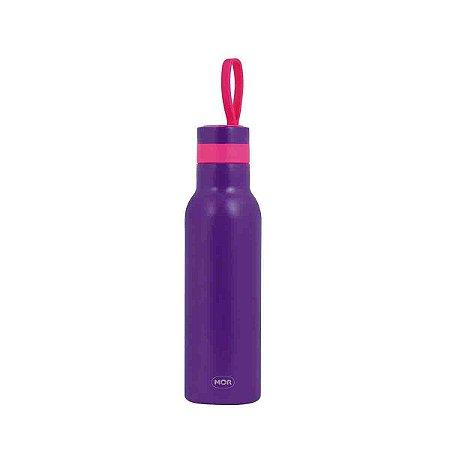 Garrafa Termica Mor Color Roxo Fitness Exercício 500 ml