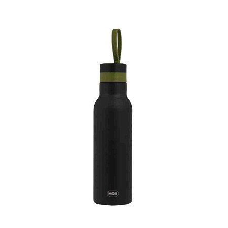 Garrafa Termica Mor Color Preto Fitness Exercício 500 ml