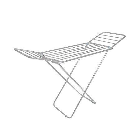 Varal De Chão C/ Abas Slim Original Mor Residencial Aluminio