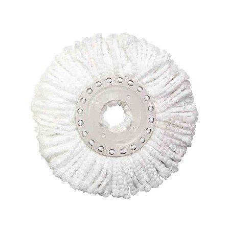 Refil Esfregão Mop Limpeza Prática Original Mor Microfibra
