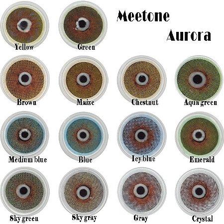 Meetone Aurora Aqua Green