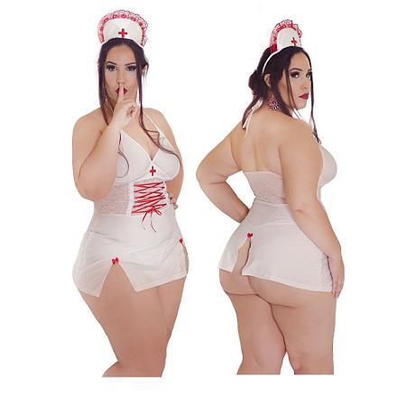 Fantasia Enfermeira Plus Size