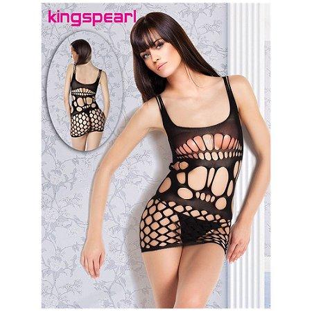 Vestido Preto Kingspearl