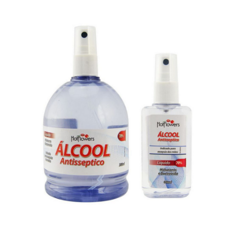 Álcool Antisséptico Liquido 70%