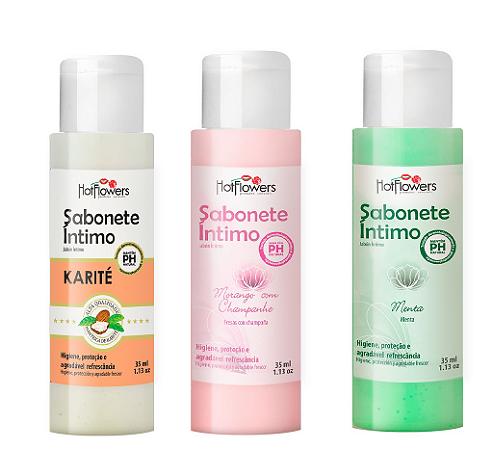 Sabonete Íntimo Hot Flowers - 35 ml