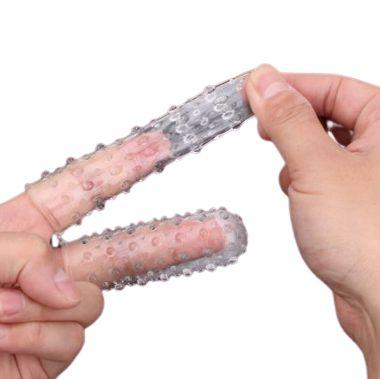Capa de Dedos com Saliências
