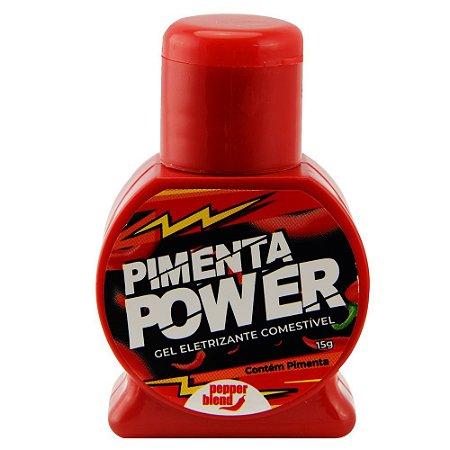 Pimenta Power Gel Eletrizante Comestível