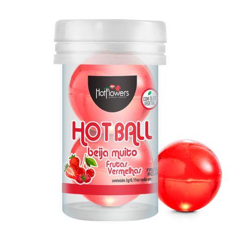 Hot Ball Beija Muito Frutas Vermelhas