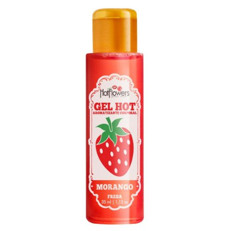 Gel Aromatizante Hot Morango