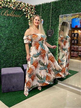 Vestido Florescer Longo