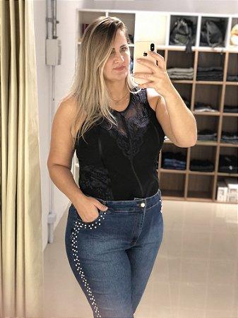 Calça Jeans Bordada Canatiba