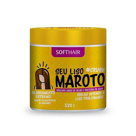 Máscara Liso Maroto Soft Hair #Crush