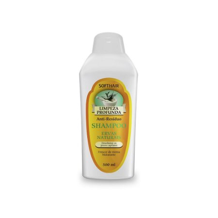 Shampoo Limpeza Profunda Ervas Naturais Soft Hair