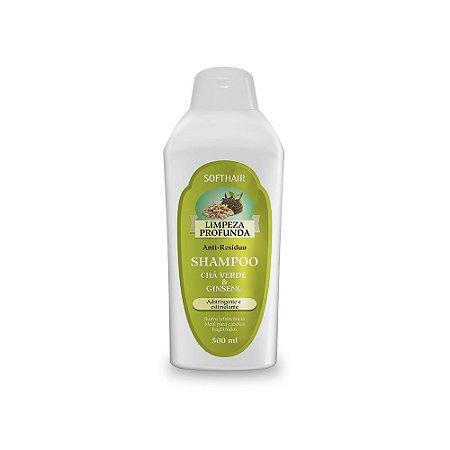 Shampoo Limpeza Profunda Chá Verde e Ginseng Soft Hair