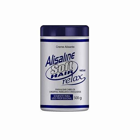 Alisante Alisaline Creme Azul (Sódio) - Concentrado 500g Soft Hair