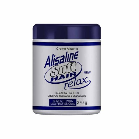 Alisaline Creme Azul (Sódio) - Concentrado 270g Soft Hair