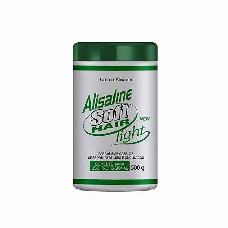 Alisaline Creme Verde (Sódio) - Super Concentrado 500g Soft Hair