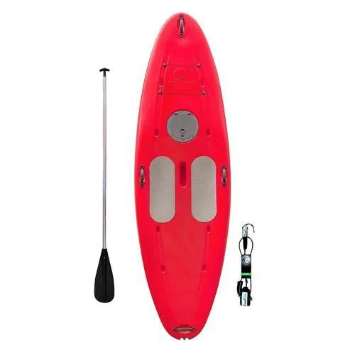 Prancha de Stand Up Paddle C/ Remo E Leash - Vermelha I Star Sup