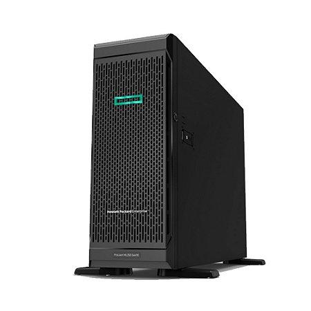 Servidor HP ML350 Gen10 4208 16GB E208i-a 4 LFF Fonte de 500W RPS – P11050-001