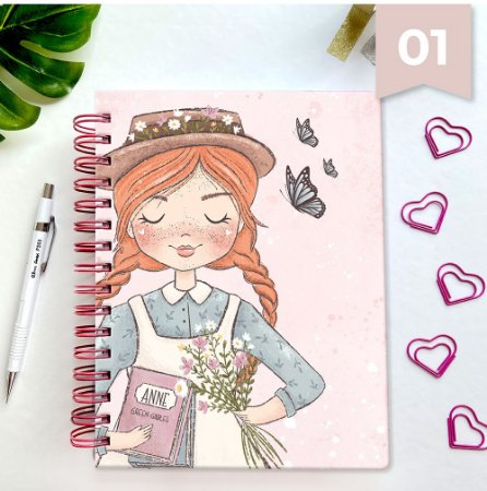 Basic Planner - Anne de Green Gables - 01