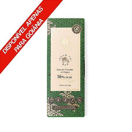 Barra de Chocolate de Origem 56% Cacau 80g