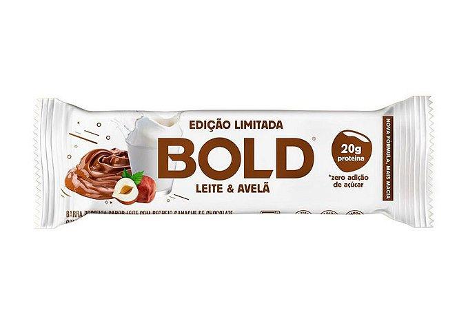 Barra de Proteína Bold Leite e Avelã 60g