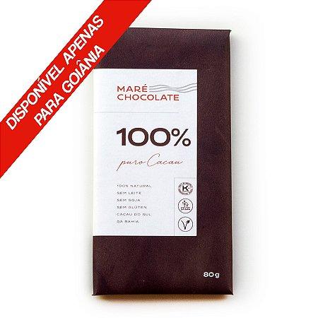 Chocolate 100% Cacau 80g
