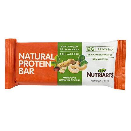 Natural Protein Bar Amendoim e Castanha de Caju 50g