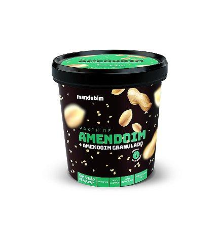 Pasta de Amendoim Integral com Amendoim Granulado 450g