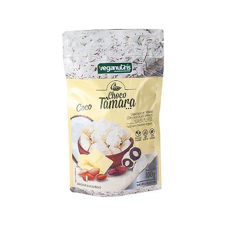 ChocoTâmara de Chocolate Branco ao Leite de Coco 100g