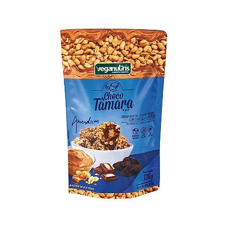 ChocoTâmara com Chocolate 70% Recheado com Amendoim 100g