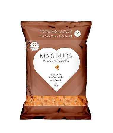 Pipoca Artesanal Caramelo & Flor-de-sal 150g