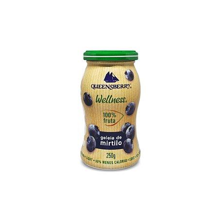 Geleia de Mirtilo 100% Frutas 250g