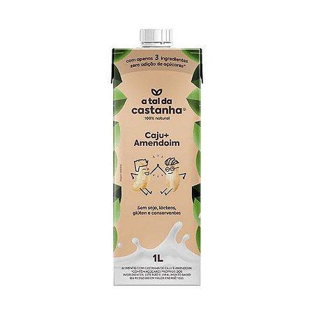 Bebida Vegetal de Castanha de Caju e Amendoim 1L