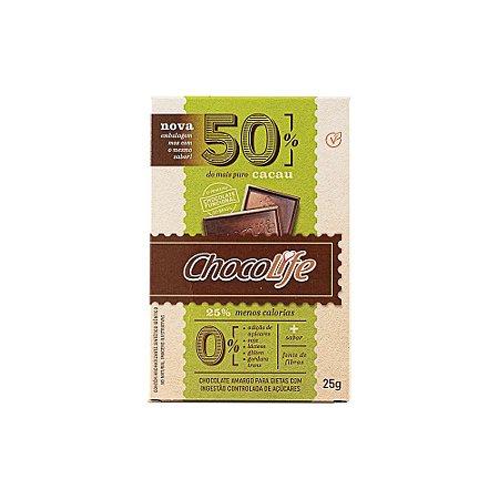 Chocolate 50% cacau 25g
