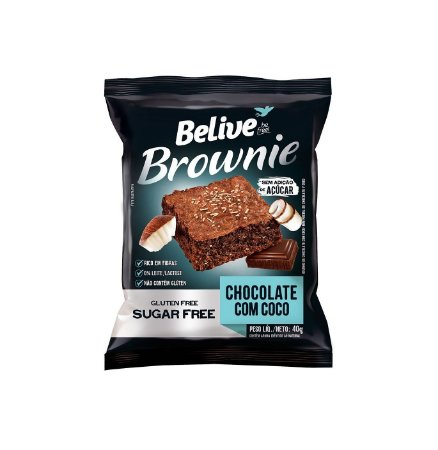 Brownie Chocolate com Coco 40g