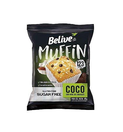 Muffin Coco com Gotas de Chocolate 40g