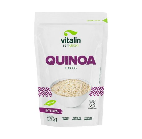 Quinoa Integral em Flocos 120g