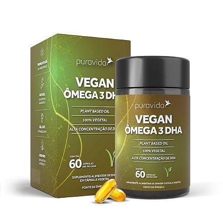 Vegan Ômega 3 DHA 60 Cápsulas
